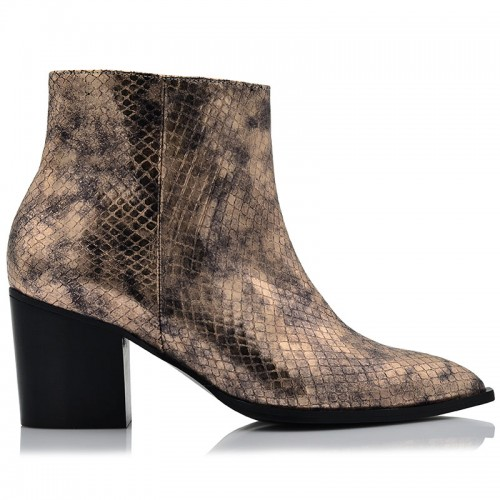 Copper Snake Leather BILERO Boots