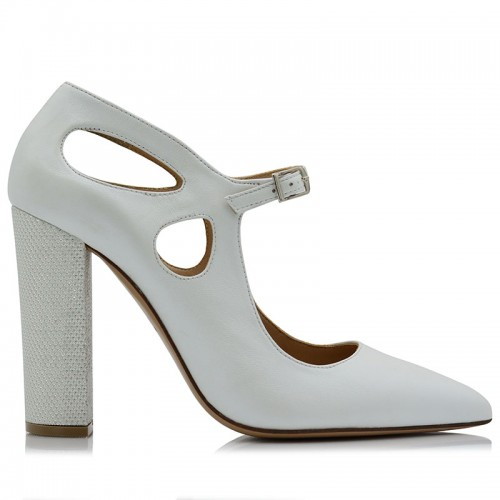 copy of Pumps Ivory Leather
