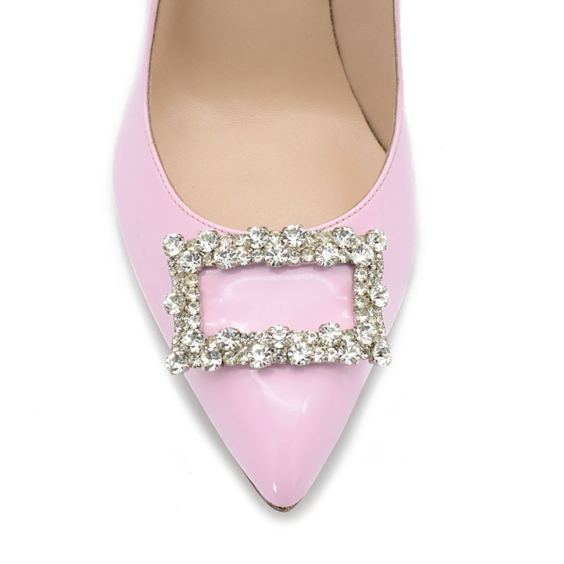 Pink Patent Leather Pumps