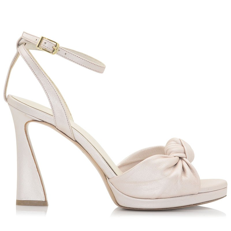 Ivory Leather Sandals